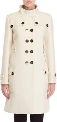 Giambattista Valli Large Button Wool Coat