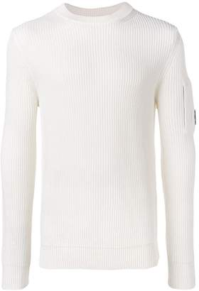 C.P. Company long-sleeve ribbed sweater