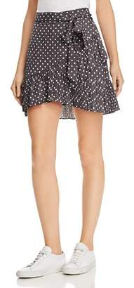 Bardot Spotty Pleated Polka Dot Mini Skirt
