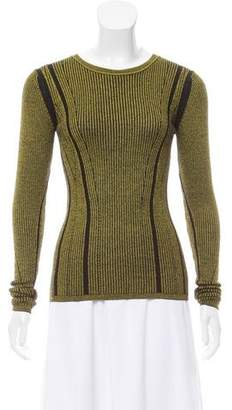 Diane von Furstenberg Long Sleeve Scoop Neck Sweater