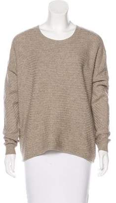 Vince Scoop Neck Knit Sweater