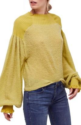 Women's Free People Elderflower Sweater $108 thestylecure.com