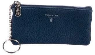 Serapian Leather Key Pouch