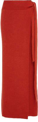 Mara Hoffman Azalea Knit High-Waisted Midi Skirt