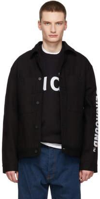 Etudes Black Denim Underground Guest Jacket