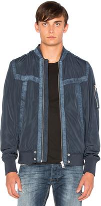 Diesel Presley Jacket $298 thestylecure.com