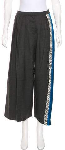 Christian Dior High-Waist Wool Pants