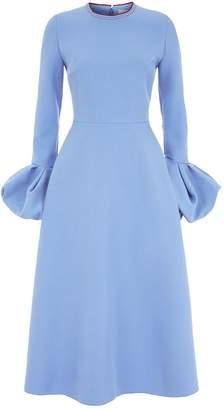 Roksanda Aylin Bell Sleeve Dress