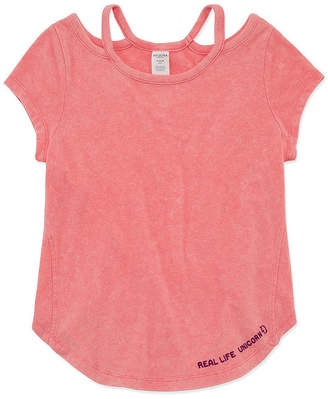 Arizona SS Mineral Wash Top - Girls' 4-16 and Plus