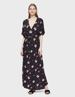 Just Female Olivia Maxi Dress in Roses