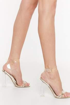 58ff97fd276 Nasty Gal Strap Buckle Heels - ShopStyle UK