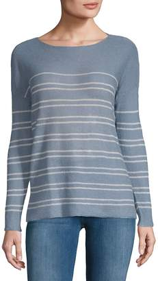 Joan Vass Women's Linen Crew Top