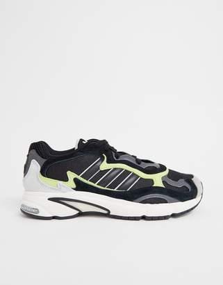 adidas Temper Run Sneakers In Black