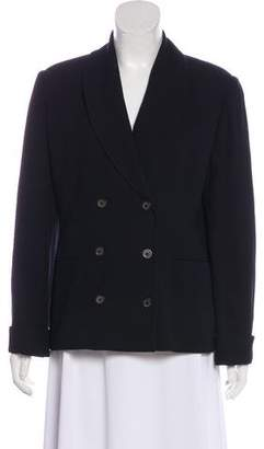 Barneys New York Barney's New York Structured Shawl-Lapel Blazer