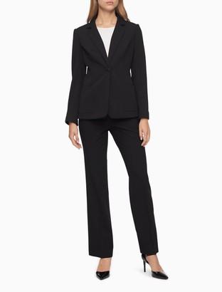 Calvin Klein Essential Skinny Black Suit Pants