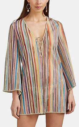 Missoni Mare Women's Striped-Knit Mini-Caftan