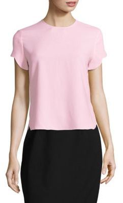 Carven Cady Short-Sleeve Top