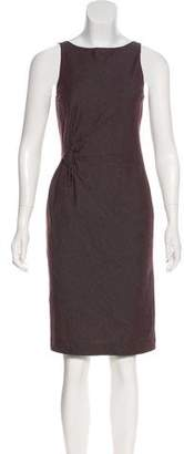 Robert Rodriguez Wool Sheath Dress