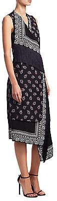Altuzarra Women's Bina Bandana Print Dress
