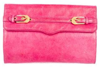 Rebecca Minkoff Leather Flap Clutch