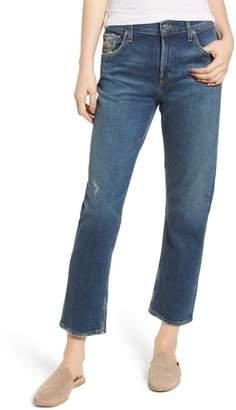 A Gold E AGOLDE Isabel Ankle Slim Boyfriend Jeans