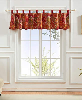 Greenland Home Fashions Tivoli Cinnamon Window Valance
