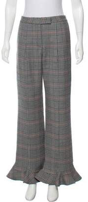 Rosie Assoulin Wool Mid-Rise Pants w/ Tags