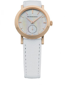 Slim Round Rose Gold Watch