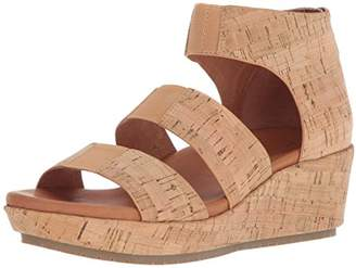 Gentle Souls by Kenneth Cole Women's Milena Triple Stretch Strap Platform Sandal Sandal