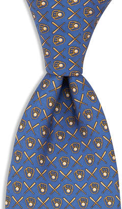 Vineyard Vines Milwaukee Brewers Tie