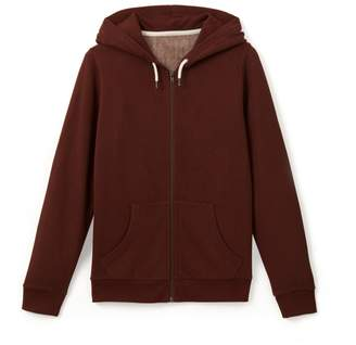 La Redoute Collections Zip-Up Hoodie, 10-16 Years