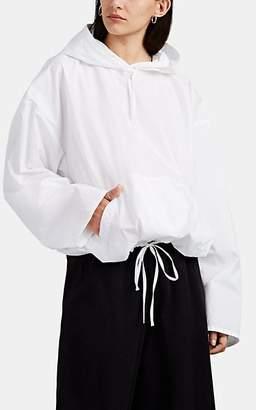 MM6 MAISON MARGIELA Women's Oversized Hooded Top - White