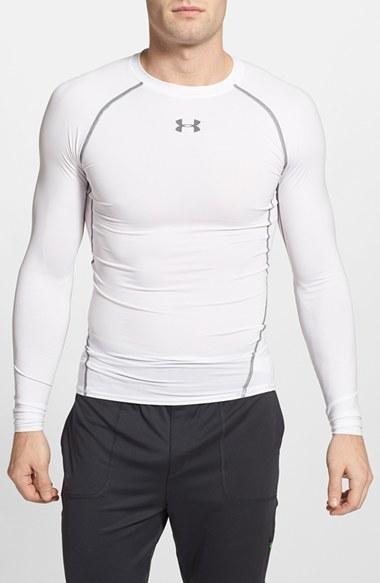 Men's Under Armour Heatgear Compression Fit Long Sleeve T-Shirt