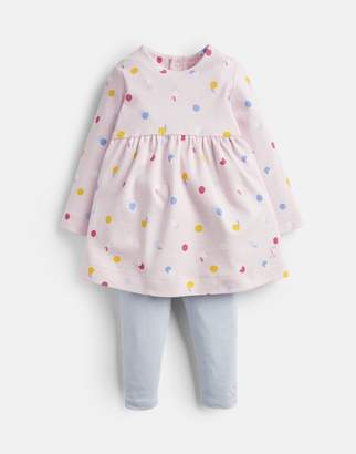 Joules Christina Dress And Leggings Set