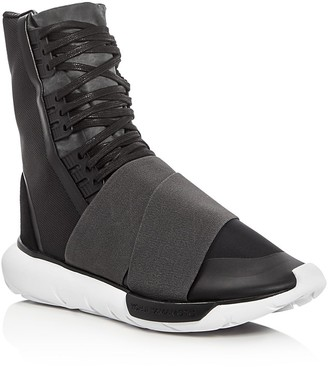 Y-3 Qasa Boot Sneakers $455 thestylecure.com