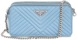 Prada Quilted Nappa Leather Shoulder Bag