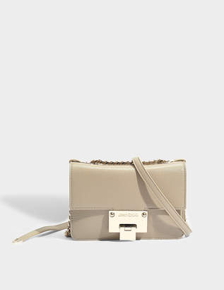 Jimmy Choo Rebel Soft Mini Bag in Chai Soft Grained Goatskin