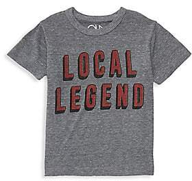 Chaser Little Boy's & Boy's Local Legend Slogan Tee