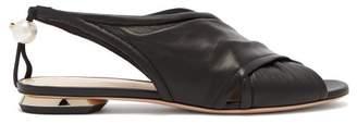 Nicholas Kirkwood Delfi Leather Sandals - Womens - Black