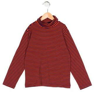 Oscar de la Renta Boys' Stripe Turtleneck Shirt