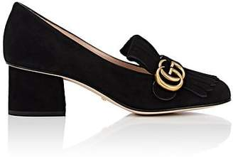 Gucci Women's Marmont Suede Pumps - Black