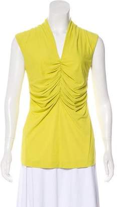 Etro Ruched Sleeveless Top
