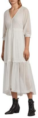 AllSaints Palma Polka Dot Dress