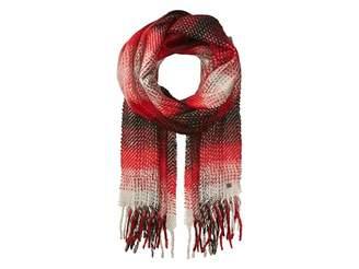 Lauren Ralph Lauren Brushed Plaid Blanket Wrap