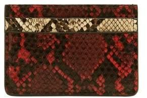 MANGO Snake effect cardholder