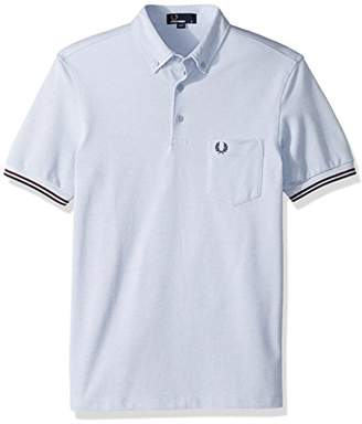 Fred Perry Men's Oxford Pique Shirt