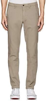 Barneys New York Men's Basket-Woven Cotton Slim Trousers