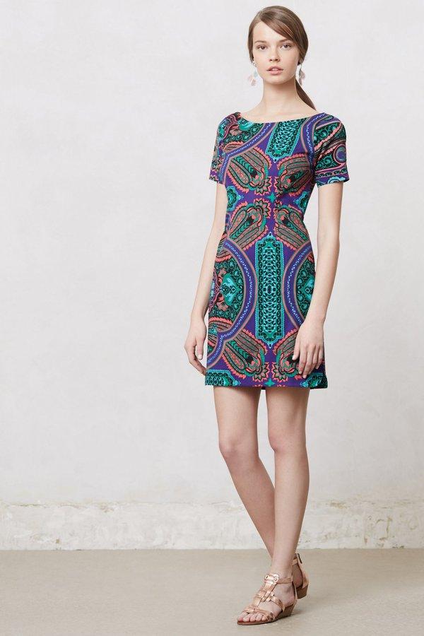 Anthropologie Baga Shift Dress
