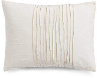 Vera Wang Striped Rectangular Cotton Decorative Pillow