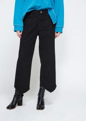 MM6 MAISON MARGIELA Pointed Hem Boyfriend Jeans